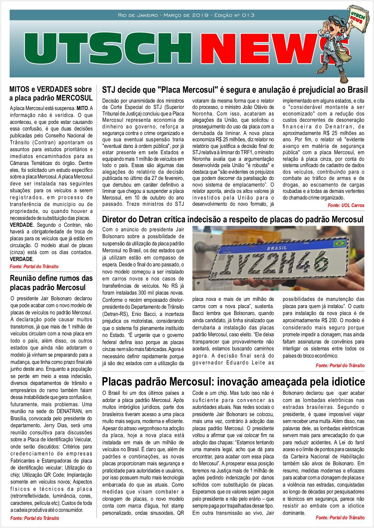 Jornal UTSCH BRASIL - edição 013 - Março_2019_page-0001